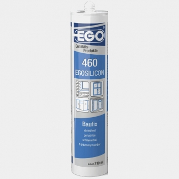 EGO Silikon EGOSILICON 460 transparent, Kartusche 310 ml